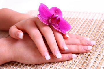 manicure,hände