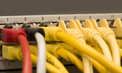 Netzwerk  Kabel Leitung