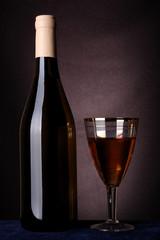 bottle of white wine