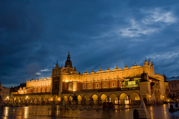 evening in Cracow 2