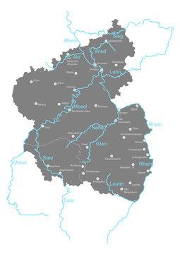 Rheinland-Pfalz und Saarland