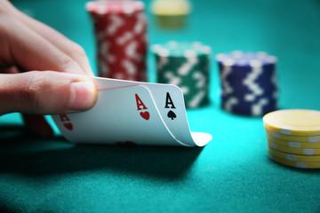 Texas Hold'Em - Coppia d'Assi