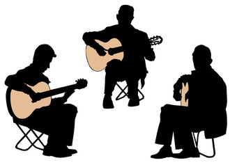 Wall Mural - Acoustic guitar