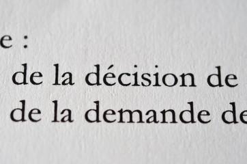 decider, demander