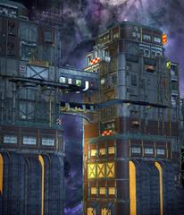 Sceneria futurystyczna 7