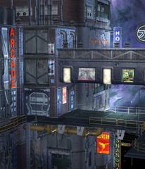 Sceneria futurystyczna 8