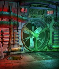 Sceneria futurystyczna 9