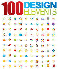 100 Vector logo and design elements