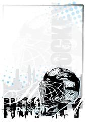 ice hockey background