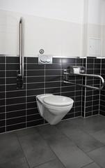 Toilette Fliesen WC