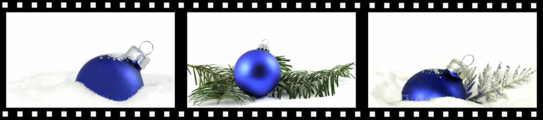 Weihnachten Filmstreifen