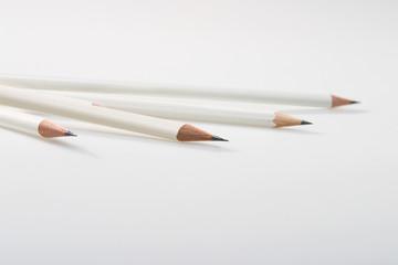 Stift,Stifte auf weiss weiss