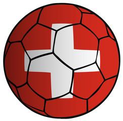 Balón bandera Selección Suiza