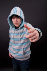 A teenager boy