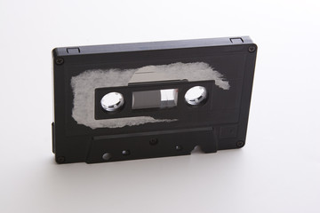weathered tape cassette