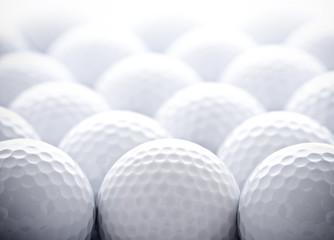 Acrylic Prints Golf Golf Balls