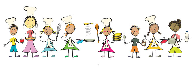 Photos illustrations et vid os de touiller - Atelier de cuisine enfant ...