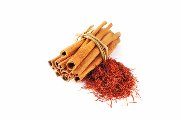 Saffron and Cinnamon