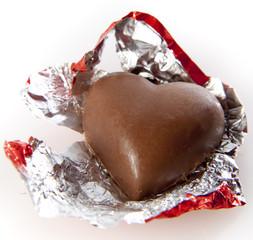 Heart Shaped Valentine's Chocolate