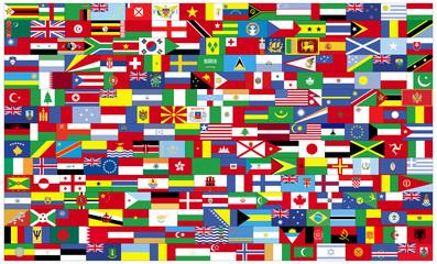 Flaggen der Erde