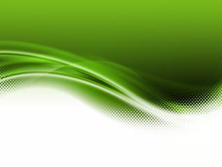 Volute et vague verte