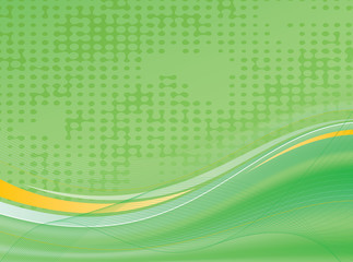 Abstract background green vector