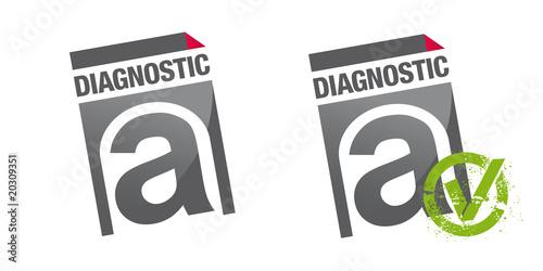 diagnostic amiante fichier vectoriel libre de droits sur la banque d 39 images. Black Bedroom Furniture Sets. Home Design Ideas