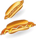 wurstsemmel wurst w rstchen hot dog stockfotos und lizenzfreie vektoren auf. Black Bedroom Furniture Sets. Home Design Ideas