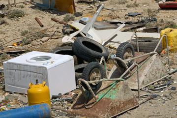 Assorted scrap materials