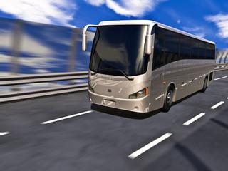 3D Tour bus