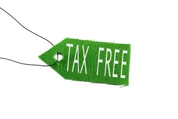 green tag tax free
