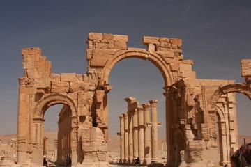 Ruinen von Palmyra - Syrien