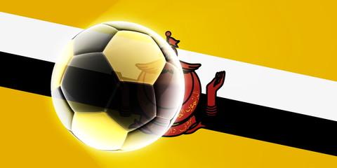 Brunei flag soccer