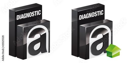 icone diagnostic amiante fichier vectoriel libre de droits sur la banque d 39 images. Black Bedroom Furniture Sets. Home Design Ideas