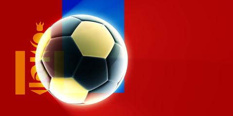 Flag of Mongolia soccer