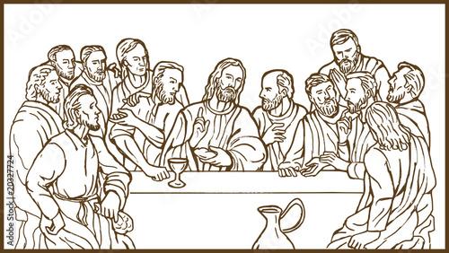 """last supper Jesus Christ savior disciples apostles"" Stock ..."