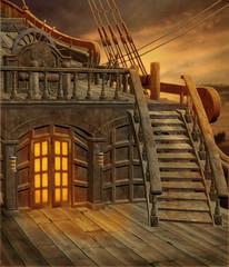 Statek piracki 1