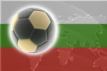 Bulgaria flag soccer