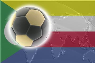 Flag of Comoros soccer