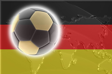 Flag of Germany soccer