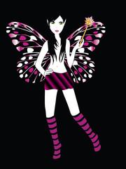 modern fairy vector