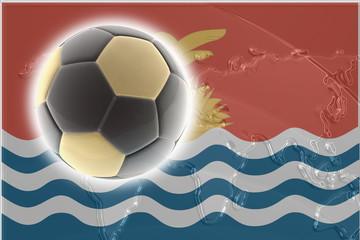 Flag of Kiribati soccer
