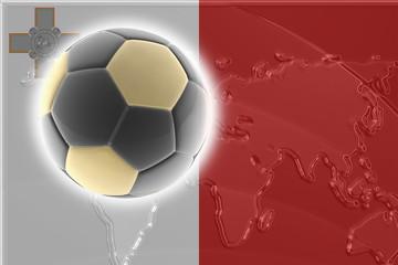 Flag of Malta soccer