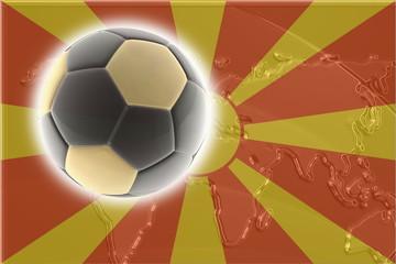 Flag of Macedonia soccer