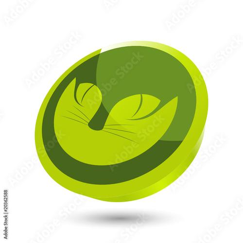 katze zeichen auge tier symbol stockfotos und lizenzfreie vektoren auf bild 20362588. Black Bedroom Furniture Sets. Home Design Ideas