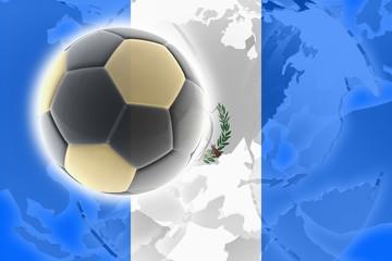 Flag of Guatemala soccer