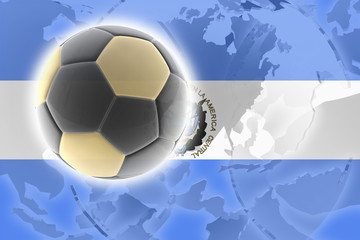 Flag of El Salvador soccer