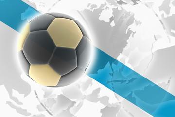 Flag of Galicia Spain soccer