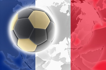 Flag of France soccer