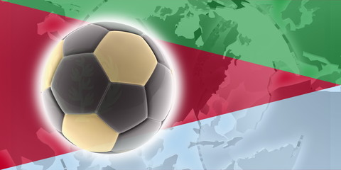 Flag of Eritrea soccer